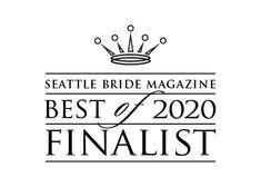 Seattle Bride magazine 2020 finalist