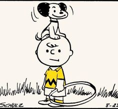 Snoopy and Charlie Brown, 1953