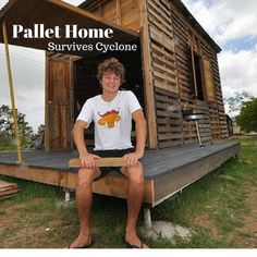 Pallet Housing that Survived a Cyclone