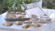 « Pop-Tarts » maison | Cuisine futée, parents pressés Breakfast Dishes, Breakfast Recipes, Quebec, Something Sweet, Pop Tarts, Food Porn, Brunch, Food And Drink, Yummy Food