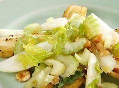 Roasted Parsnip, Celery Heart, and Apple Salad