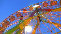 Neon Lights On A Carnival Ride 2 Stock Footage Video 2563304 ...