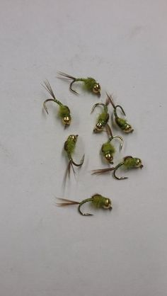 red bead head olive hermit locally hand tied   weaver's online, Fishing Reels