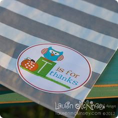 happy thanksgiving gift tags