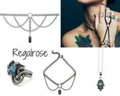 REGALROSE (MidRange):  These gorgeous and precious pieces are all a girl needs to elevate her look and to add some edge to it. The gemstone is by far the main character of their jewelry line, which definitely makes them a spot-on-trend brand. I find the necklaces and the handpiece very sexy items and would love love love to own them!