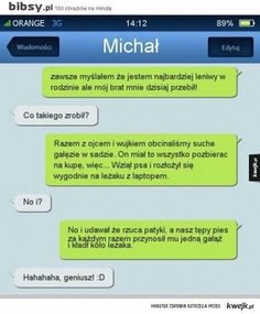 Polish Memes, Sms Text, Funny Mems, Funny Messages, Wtf Funny, Funny Comics, Funny Animals, Texts, Haha