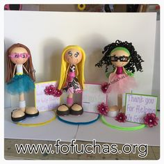Fofucha Pens special gift for 3 awesome school teachers. #TeachersGift #School #fofuchas