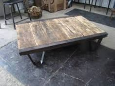 Table Basse Industrielle : Table basse
