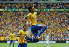 Brasil Beats Croatia 3-1 In FIFA World CUP 2014 Opener, Neymar Shines for Brazil