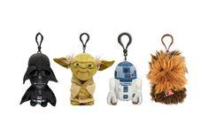 "Star Wars Talking Plush Keyring 4"" - Chewbacca Darth Vader R2d2 Yoda Key Chain #StarWars"