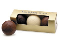 Golf Wedding Favors Chocolate Golf Balls  $5.50