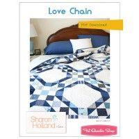 Love Chain Downloadable PDF Quilt PatternSharon Holland Designs