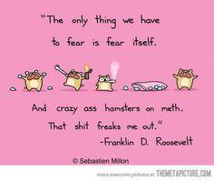 Fear the Meth Hamsters!