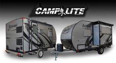 Camplite 14DBS Aluminum Travel Trailer