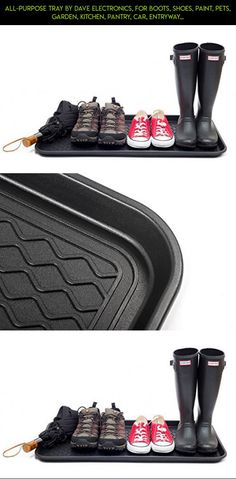 All-Purpose Tray By Dave Electronics, for Boots, Shoes, Paint, Pets, Garden, Kitchen, Pantry, Car, Entryway, Garage, Mudroom. Indoor-outdoor Storage and Floor Protection, Use As Cat Litter Mat or Dog Feeding Mat - 30x15x1.2 Inches (2 Pack)… #parts #grids #gadgets #products #racing #storage #shopping #technology #plans #camera #fpv #drone #tech #kit