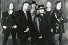 This is the band .38 Special. Darnel dropped out of high school just so he could go on tour with them!