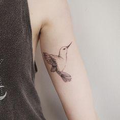 Hummingbird tattoo - Tattoo People Toronto - Jess Chen