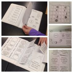 Space Interactive Notebook Pages and Templates - moon phases, planets, lunar cycle, eclipses and much more.