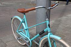 #amsterdam #bicycles #veloretti #velorettiamsterdam #design #bike #netherlands #dutch #designbike #wall #color #spotted