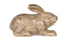 Brass Paperweight Bunny, from Current/Elliott Loved and Found
