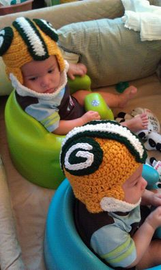 Hat Helmet  Inspired by the Green Bay Packer by SubasandSualyShop, $22.00