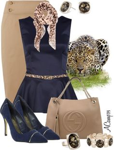 """In The Jungle"" by anna-campos ❤ liked on Polyvore"