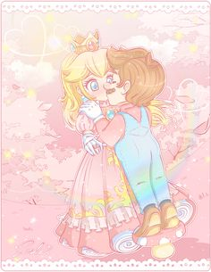 """M-Mario."" dO nOt hate the Clo. The Clo was on vacations but now is.~Then I Kissed Her~. Peach Mario, Mario And Princess Peach, Star Citizen, Yoshi, Mario Comics, Daisy, Super Mario Art, Mario And Luigi, Nintendo"