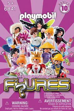 Playmobil Figures Serie  10 Girls completa - 12 figuras diferentes - Whole series 110 - 12 diferent figures 6841