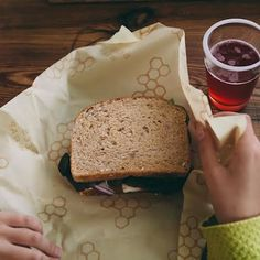 Learn how bee's wrap sandwich wraps will revolutionize your lunch packing and you could win!