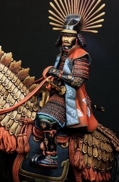 Hideyoshi Toyotomi by yoon · Putty&Paint Samurai Armor, Arm Armor, Samourai Tattoo, Chinese Armor, Boxer Rebellion, Toy Theatre, Military Modelling, Figure Model, Scale Model