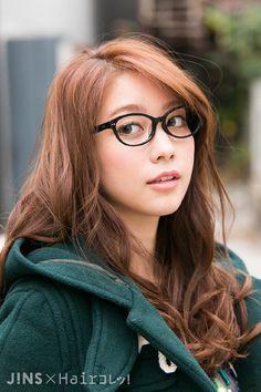 久恒 美菜さん|知的で女性らしいクラシックメガネ|JINS SNAP http://www.jins-snap.com/snap/?id=U20150113174509 #久恒美菜 #Mina_Hisatsune