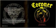 coroner thrash metal band album