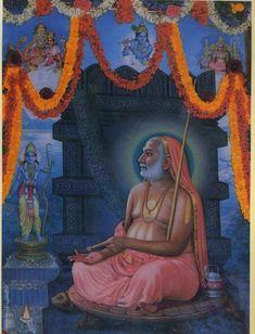 Raghavendra2 Hanuman Pics, Shri Hanuman, Shree Krishna, Indian Saints, Saints Of India, Sai Baba Pictures, God Pictures, Shiva Hindu, Hindu Deities