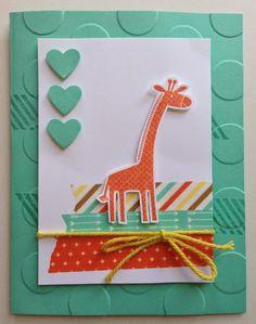 Kathryn Mangelsdorf: Kathryn's Stampin' World: Freshly Made Sketches: Sketch #149 & Zoo Babies - 8/17/14