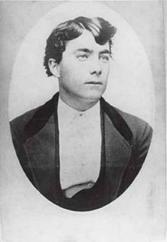 """Tom McLaury of Tombstone, Arizona was killed by a shotgun blast from John Henry """"Doc"""" Holliday during the gunfight on Fremont Street near the O.K. Corral on October 26, 1881."""