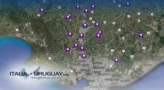 Scopri l'#Uruguay attraverso i sentieri del vino con la mappa delle principali cantine vinicole. Los Caminos del #Vino. Mirá el mapa de las bodegas: http://ow.ly/Gbz9e #Enoturismo