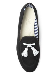 Charles Philip Shanghai Suede Loafers