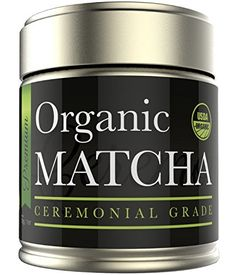 Ceremonial Matcha - Organic Matcha Green Tea Powder - - Highest Quality Japanese Matcha - Perfect for Tea Ceremonies - Made from Organic Tea Leaves - Detox Tea