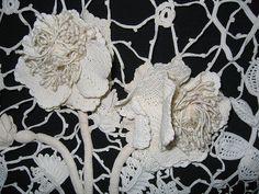 Antique Irish Lace, via Flickr.
