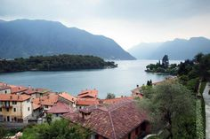 Everything You Need to Know About Lake Como: View of the lake from a little town near Tremezzo