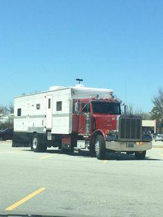 Truck Bed Camper, Big Rig Trucks, Truck Camper, New Trucks, Cool Trucks, Custom Campers, Cool Campers, Motorhome Conversions, Model Truck Kits