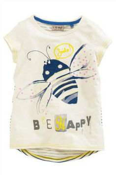 Buy Bee Appliqué T-Shirt (3-16yrs) from the Next UK online shop