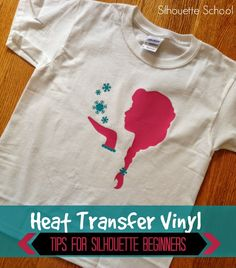 Silhouette Heat Transfer Vinyl Tips for Beginners ~ Silhouette School