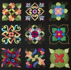 affairs of the heart quilt pattern | Go to the Products page to purchase this design.