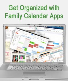 """""""Finding the Family Calendar App that Fits"""" from Connections Academy online school. Pin to Prepare—Create a Pinboard of """"Cool Tools for Online School"""" for a Chance to Win! #organization"""