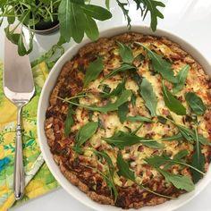 Aasialainen broilerikulho | Kana, Arjen nopeat | Soppa365 Quiche Lorraine, Bulgogi, Vegetable Pizza, Feta, Vegetables, Vegetable Recipes, Veggies