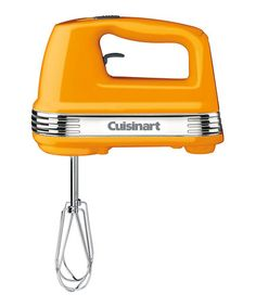 Take a look at this Golden Yellow Five-Speed Power Advantage Hand Mixer by Cuisinart on #zulily today!