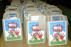 take home bags for Messy Church - use luggage tags to write names on (thanks to South Wales Messy Church) Kids Church, Church Ideas, Christmas Nativity, Christmas Ideas, Puppy Backpack, Creative Connections, Holiday Club, Catholic Crafts, Animal Bag