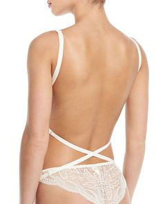 Simone Perele Eden Multi-Position Backless Bra and Matching Items & Matching Items Wedding Bra, Bridal Bra, Backless Wedding, Wedding Dress Undergarments, Bras For Backless Dresses, Backless Bra With Straps, Bh Hacks, Convertible Bra, Bra Pattern