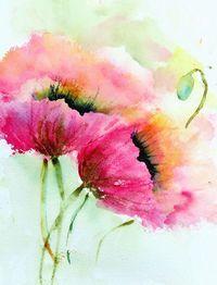 Aquarelle - Watercolor paintings